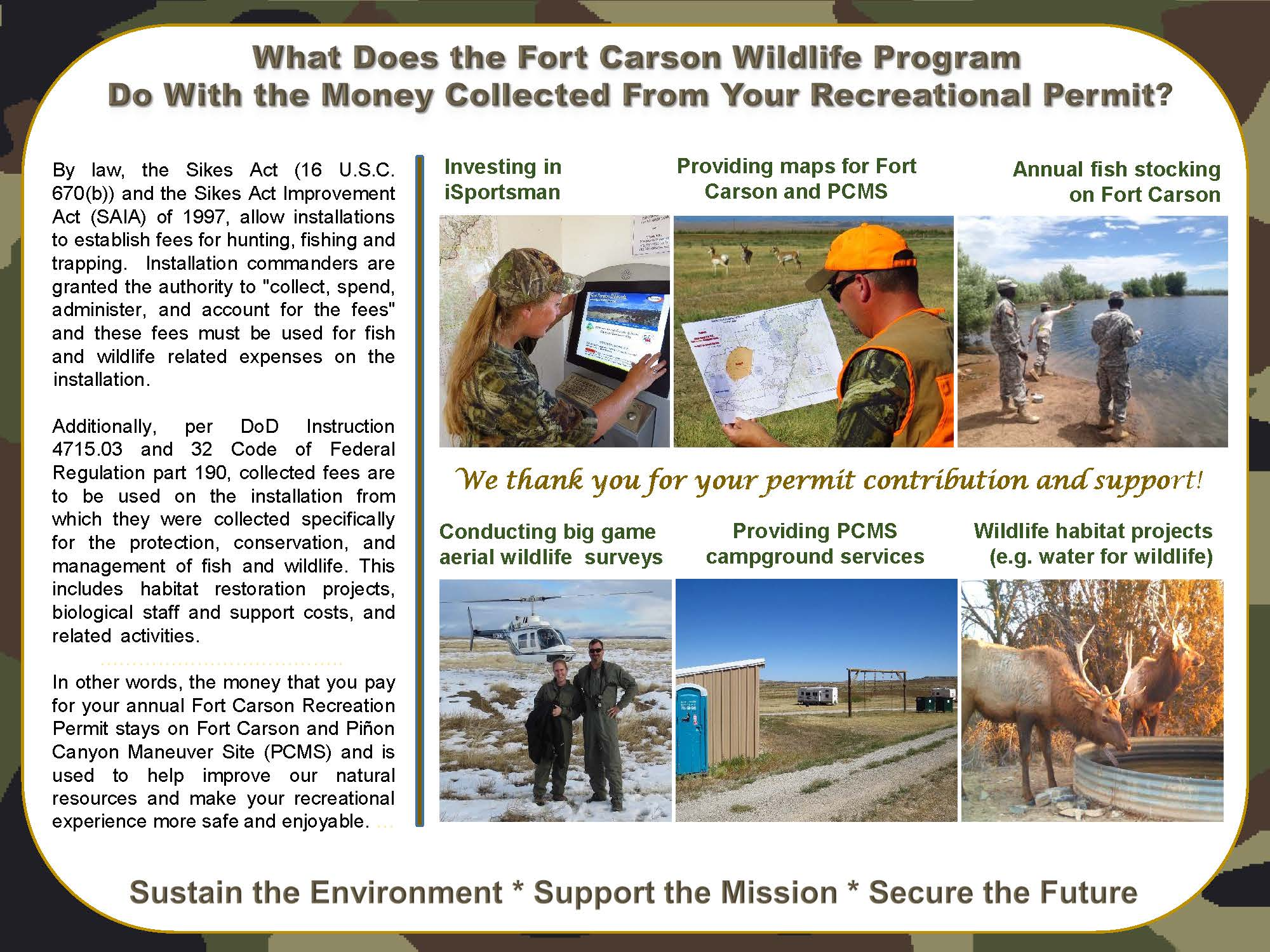 Home - Fort Carson - iSportsman